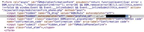 fb html code hacking facebook account with just a text message