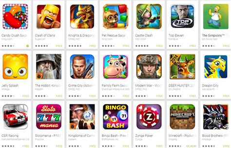 Play Store Top Grossing Top 20 Play Store Top Grossing Has Only One