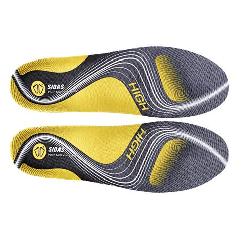 Sidas 3feet Activ Low Arch Insoles sidas 3feet activ insoles for high arches shoeinsoles co uk