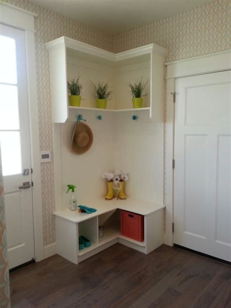 corner bench mudroom corner mudroom bench home decor organizing ideas