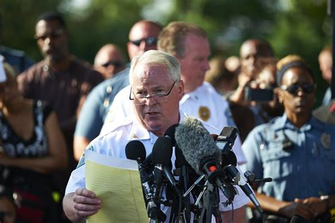 Ferguson Police Chief Tom Jackson Resigns After Department