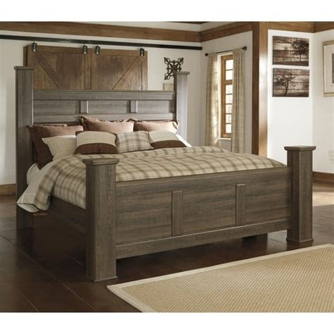 ashley poster bedroom sets signature design by ashley furniture juararo poster bed in