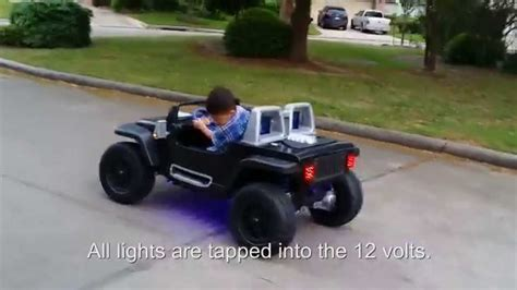 lifted jeep power wheels jeep hurricane power wheels modification