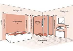 elektroinstallation badezimmer die schutzbereiche im bad leuchten sicher installieren