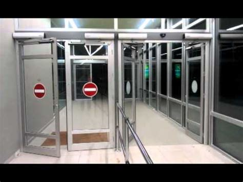 automatic swing door automatic swing doors by security home center youtube