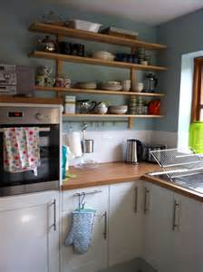 Duck Kitchen by Units Wooden Counter And Shelves With Duck Egg Blue Walls Kitchens