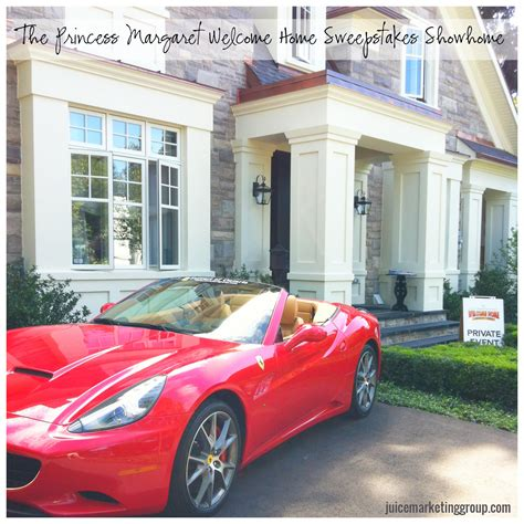 Welcome Home Sweepstakes - the princess margaret welcome home sweepstakes showhome