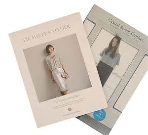 Comeback in the form of a new dressmaking book casual sweet clothes