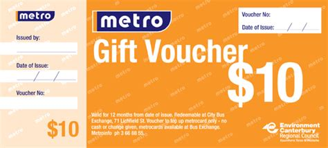 Metrocard Gift Card - in nhanh voucher thẻ vip