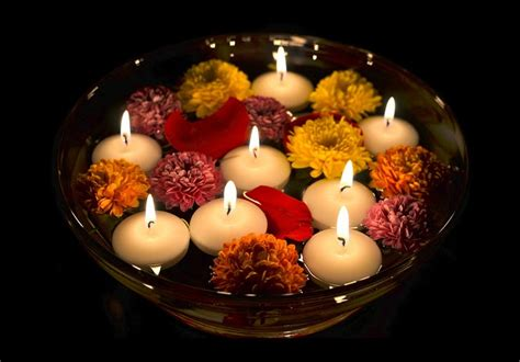 Home Decoration Ideas For Diwali by Diwali Candles Ideas Diwali Decorations With Floating
