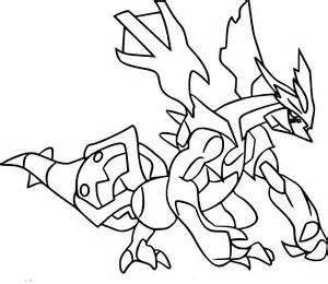 coloriage kyurem pokemon 224 imprimer