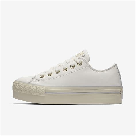 Converse Chuck Low Premium converse chuck all leather platform low top s shoe nike