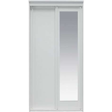 homebase bedroom furniture wardrobes new hallingford 2 dr sliding mirrored wardrobe white at