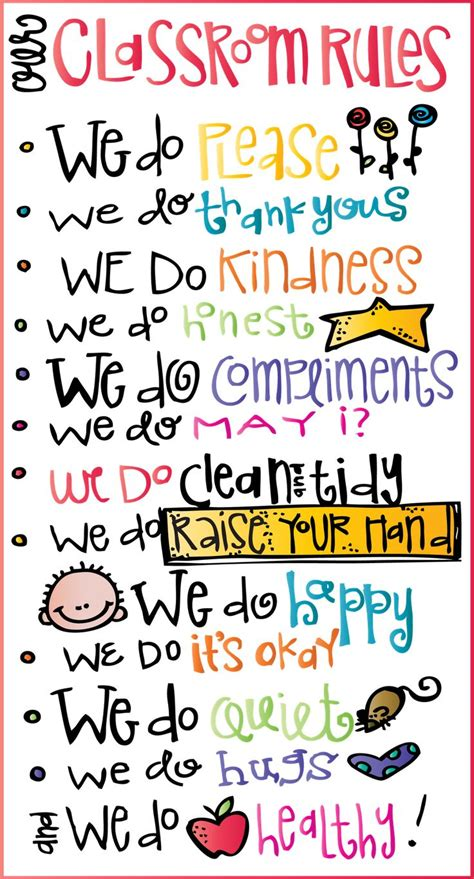 printable posters for classroom cute classroom rules printable free from mealonheadz
