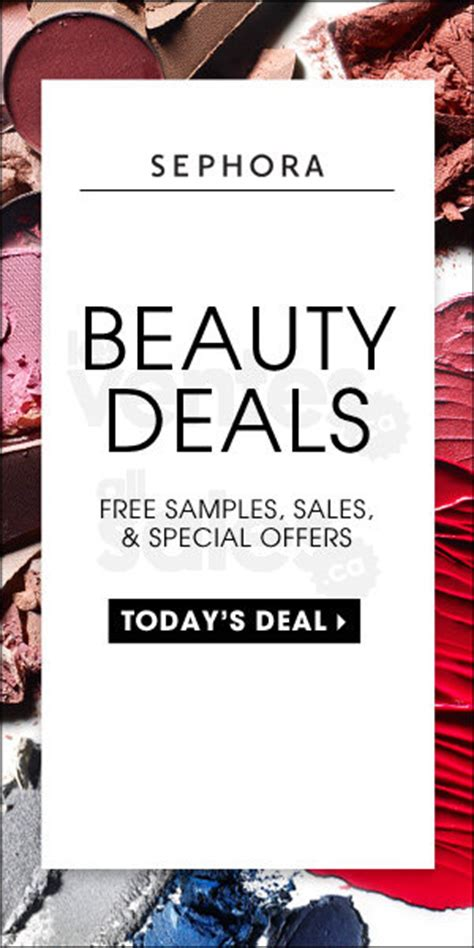 Cosmetics Special Offer by Sephora Deals Allsales Ca