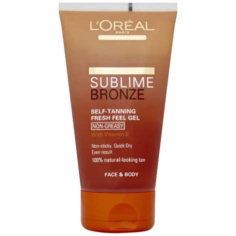 Gel L by L Oreal Sublime Bronze Self Tanning Fresh Feel Gel