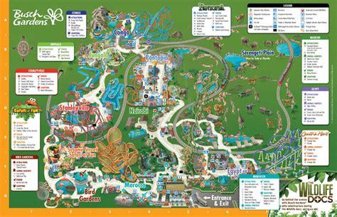 Busch Gardens Gift Card - park map busch gardens ta