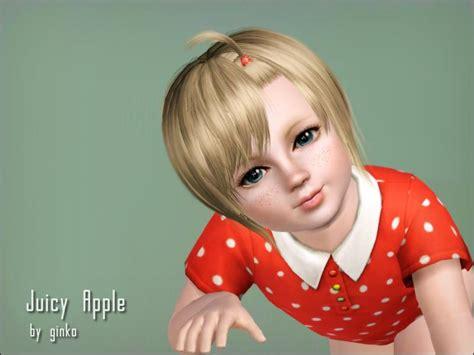 oddler hair sims 3 ginko0613 s toddler hair juicyapple