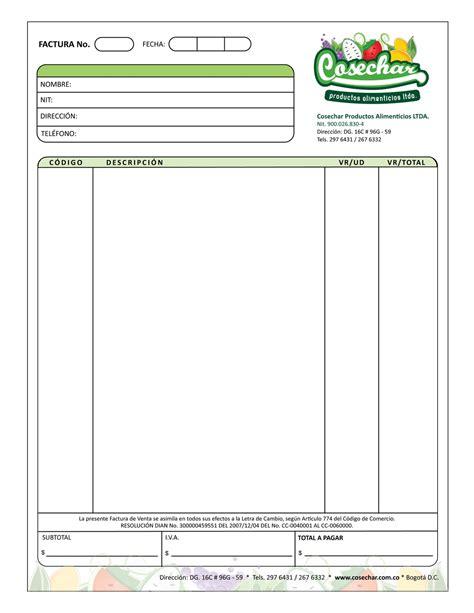 sprc formatos y circulares formatos facturas excel apexwallpapers com