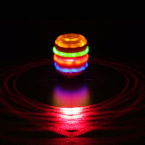 Lu Led Laser spinning laser top sureglow