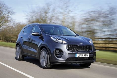 The New Kia Car Drive Co Uk The 2017 Sportage Suv By Kia Reviewed By
