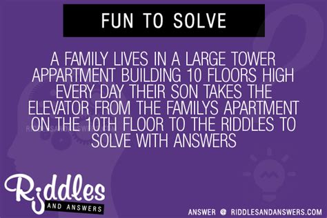 30 a family lives in a large tower appartment building 10 - 10 Floors A Day
