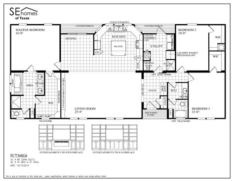 southern mobile homes floor plans 6 cool southern energy homes floor plans house plans 85704
