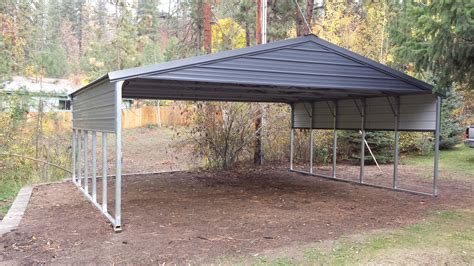 Steel Frame Carport Kits Versatube Metal Building Kits With Free Shipping Metal