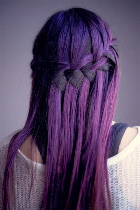 what to dye your hair when its black purple boho the latest trends in women s hairstyles and