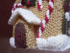 knitting pattern gingerbread house frankie brown gingerbread house on pinterest