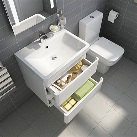 Bathroom Wall Hung Furniture White Gloss Wall Hung Vanity Sink Unit Bathroom Furniture Projection Toilet Search