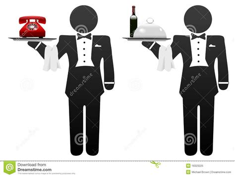 Free Program To Design A Room butler servant room service food phone on tray royalty