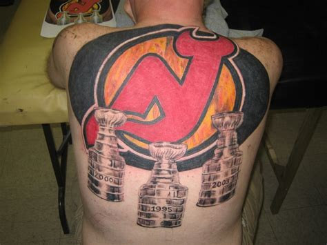 new york tattoo in forked river nj massive 3 cup back tattoo new york giants and new jersey