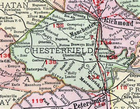 Detox Near Chesterfield County Va by 100 Best Historic Virginia County Maps Images On