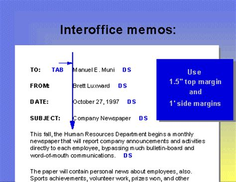 Memo Format Spacing 7 Memo Heading Format Cinema Resume