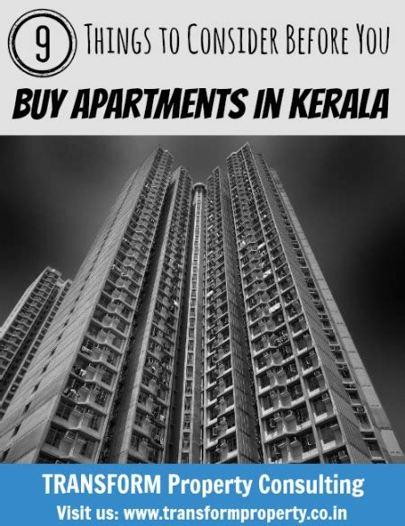 things to buy for an apartment 9 things to consider before you buy apartments in kerala