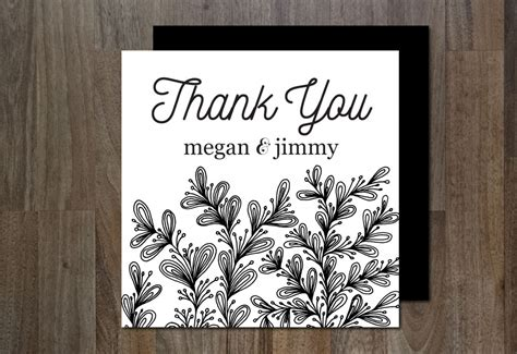 4 Simple Wedding Thank You Card Templates by The Best Thank You Cards Template Designs