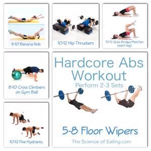 Ab core workouts