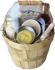 Small Gift Baskets Honey And Hive Gift Basket Small