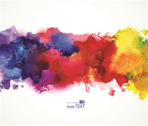 watercolor vector free vector 809 free vector for commercial use format ai eps