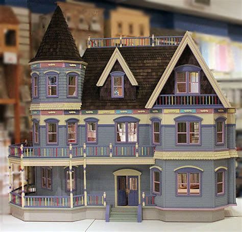assembled doll houses heirloom museum quality dollhouses and kits