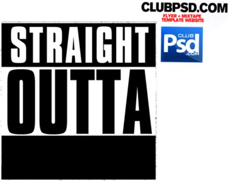 Psd Detail Straight Outta Official Psds Outta Compton Photoshop Template