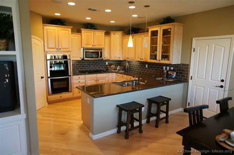 ideas light wood cabinets kitchen cabinets traditional light wood a s clear maple wood