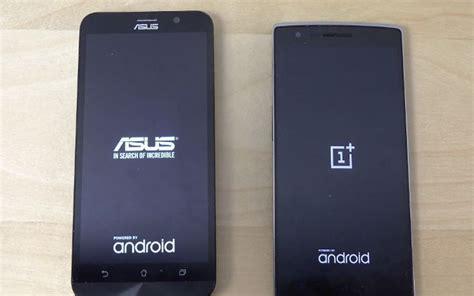 Hp Samsung Oneplus asus zenfone 2 vs oneplus one duel siapa yang paling tercepat