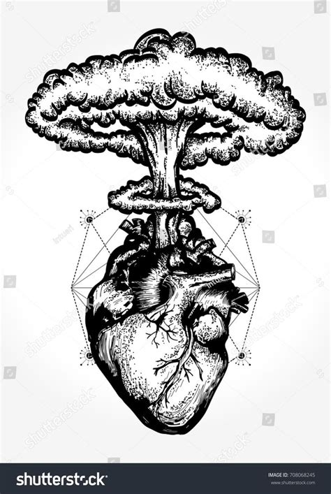 nuclear tattoo best 25 anatomical ideas on human