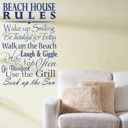 Wall Stickers Sayings home 187 quotes 187 beach house rules quote saying wall decals