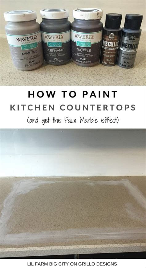 17 best ideas about paint kitchen countertops on