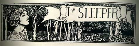 The Sleeper By Edgar Allan Poe by The Sleeper Edgar Allan Poe