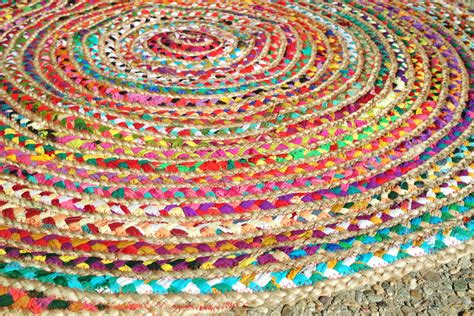 Hippy Rug by Rag Rug Boho Chic Hippie Area Rug 4 By