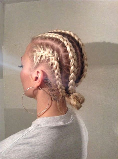 white girl cornrow styles dope white girl braids natural hair love and style ideas